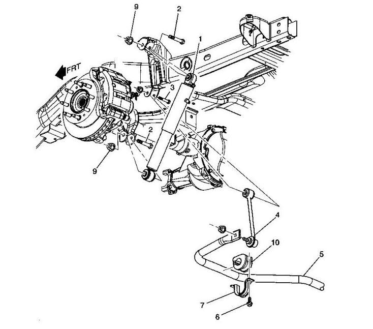 Запчасти Hummer H2 на схеме