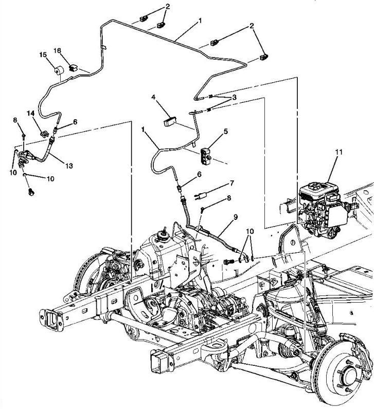 H3 Hummer Diagram