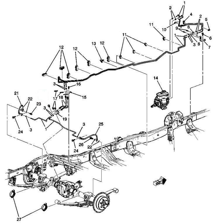 hummer h3 axle diagram