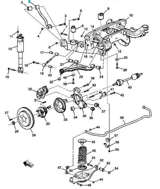 front suspension diagram 04 accord